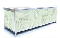 Экран под ванну ЭЛИТ Зеленый мрамор 160 см