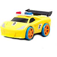 Машина на батарейках, 002-2E свет, звук, в коробке 13,5*9*6,5 см