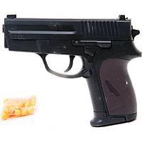 Пистолет CYMA P618 с пульками утяжеленный 16*3*12,5 JH120309513B/108/