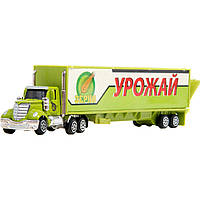 Машинка трейлер PLAY SMART 6390-1 спец.транспорт метал.4в.пласт.24*4*8 /192/