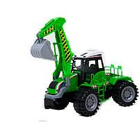 Трактор 666-21A инерц.пласт.48*17*20