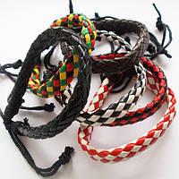 Плетенные браслеты фенечки.