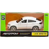 """Машина металлическая 67313 """"АВТОПРОМ"""",BMW X6, откр.двери, 14,2*7,2*6,5 см"""