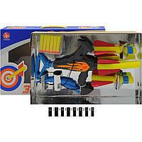 Лук (паралонові стріли, мішень) коробка 8003С р.41,5х26х5,6 см.
