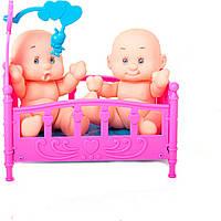 Пупсики у ліжечку (кульок) 536-23 р.13х7,5х13 см.