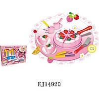 Игрушечный торт (арт. 500-2), пластик, Коробка с открытым окном, 1.00x1.00x1.00 см, 3-6 лет, Jambo, 100293032