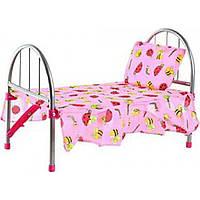 Кроватка MELOGO 9342 (HT) для кукол 46*25*32