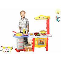 Детская кухня, свет, звук (арт. 3565), пластик, Цветная коробка, 52.00x6.50x46.50 см, 3-6 лет, Jambo, 100961063