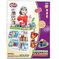 Набор игровой Супермаркет (арт. SL32353), пластик,47.5x10.7x64 см JAMBO 100827286