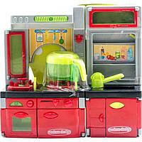 Кухня XS 14015 23-25-7,5 см, звук, свет, посуда, на бат-ке, 26-27-10 см