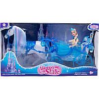 Карета з лялькою (коробка) 225А