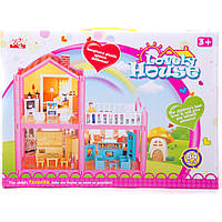 Кукольный дом 952 с куклами, мебелью 38*6*28
