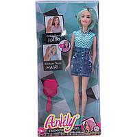 "Кукла типа ""Барби"" LH201571 3 вида, меняет цвет волос от тепла, с аксесс,"
