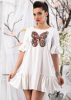 Платье с бабочкой 42 44 46