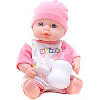 Кукла-пупс 8001A4/B4/C4/D4 интерактив.с аксес.говорит, плачет, смеется сумка 17*12*22