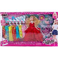 Лялька з одягом та аксесуарами (коробка) 655-ВС