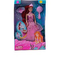 """Кукла """"Defa Lucy""""Русалочка"""" 8188 с аксесс.,2 вида, 18*33 см"""