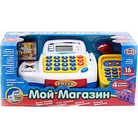 "Кассовый аппарат PLAY SMART 7020 ""Мой магазин"" на батарейках, музыка, свет. 38,5*18*17,5"