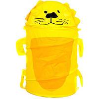 Корзина для игрушек GFP-101/112 товар (45*80)2 вида микс в сумке со змейкой 50 см