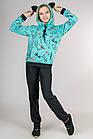 Детский спортивный костюм для девочки трикотажный Котики (цвет мятный), фото 5