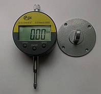 Цифровой индикатор часового типа ИЧЦ 0-12,7 мм (0,01 мм) с ушком в водозащитном корпусе IP54, фото 1