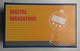 Цифровий індикатор годинникового типу ИЧЦ 0-12,7 мм (0,01 мм) з вушком у водозащитном корпусі IP54, фото 8