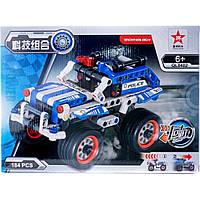 """Конструктор """"Спортивна машина """" (коробка) QL0402 р.28,5*21*,6,5 см"""