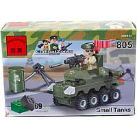 Конструктор BRICK 805 танк 69дет.распак. 14*4,5*9 /150/
