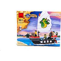 """Конструктор 301 (36) """"Пиратский Корабль"""", 211 дет, в коробке"""