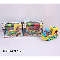 Музыкальная игрушка паровоз 0649 на батарейках, , 20*14*12 см