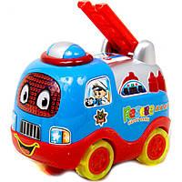 Музыкальная игрушка машинка 6901 3 батар, 15*11*12 см