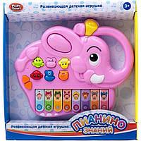 Музыкальная развивающая игрушка орган 7252A/B/C/D/E/F 6 видов, 25 см на бат. в коробке 25*24*1,5cm