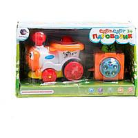 Музыкальная игрушка паровоз 1288AB на батарейках, , рус.песенка, 33*13*11,5 см