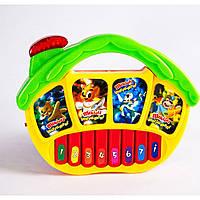 Музыкальная развивающая игрушка орган 7095 на батарейках, , 2 вида, в пакете 18*14 см