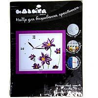 """Вышивка Годинник """"Квітковий аромат"""" 38х35 см 14СТ"""