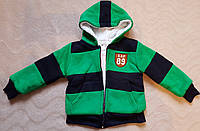 Курточка на меху, меховушка для мальчика 3 года