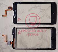 Lenovo A328 сенсорний екран, тачскрін чорний