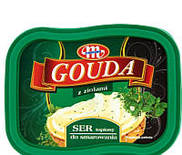 Сыр плавленый Mlekovita Gouda с зеленью, 150 г Гауда