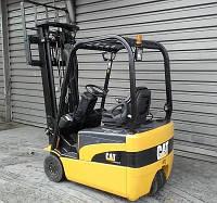 Вилочный электропогрузчик CAT Lift Trucks EP16NT, 2011, 1.6 т, 3.7 м