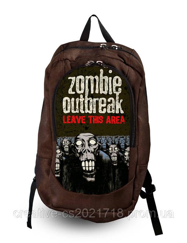 """Рюкзак """"Zombie outbreak"""" большой"""