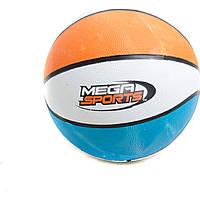 Мяч баскетбольный BT-BTB-0013 резиновый, размер 7 500г /40/