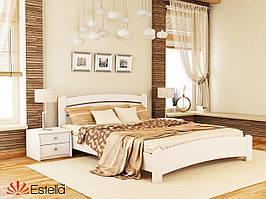 """Дерев'яне ліжко із бука """"Венеція Люкс"""""""