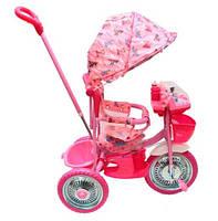 Трехколесный велосипед Малятко TC-R107A-2A (Розовый)