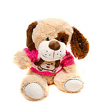 "Мягкая игрушка 079 ""Мишка, Собачка"" 35 см, 2 вида - 691466000079"
