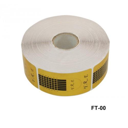 Форма для наращивания ногтей узкая золото YRE FT-00 500 шт - Все для маникюра - eStatus в Харькове