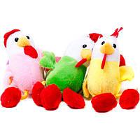 """Мягкая игрушка 021 """"Петух"""" 14 см, 6 цветов, ЦЕНА ЗА 1 ШТ, 12 шт в упаковке"""