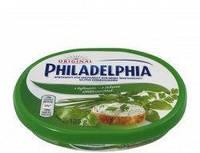 Сыр Филадельфия с зеленью, 125 г Philadelphia Філадельфія
