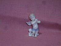 """JP-35/12 Фарфоровая статуэтка - фигурка ангела """"Неразлучные друзья"""" Pavone 9 сантиметров высота"""