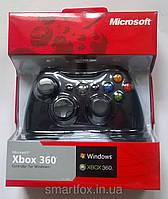 Игровой манипулятор (джойстик) X-BOX 360 проводной джойстик ЧЕРНЫЙ