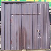 Крышка для колодца (диаметр кольца 1 м) светло-коричневый матовый